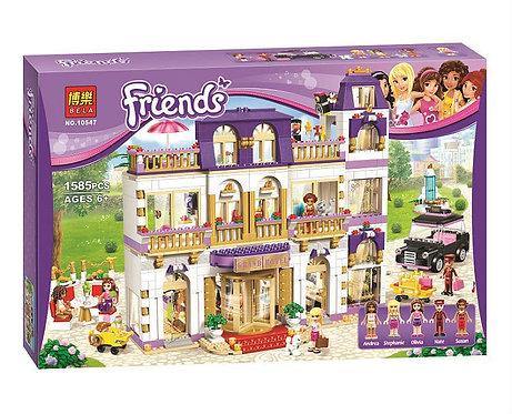Коробка аналог Lego Friends Гранд-отель | 41101 | LEGOREPLICA
