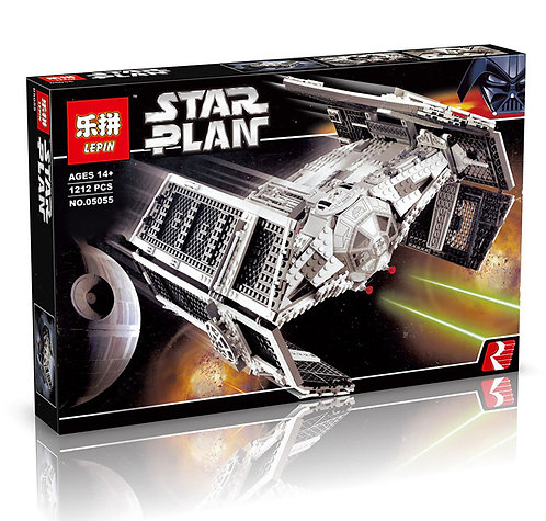Коробка аналог Lego Star Wars Истребитель Дарт Вейдера   10175   LEGOREPLICA