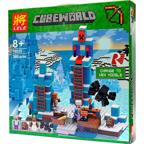 Коробка LELE Minecraft Ледяные шипы | 21131 | IQREPLICA