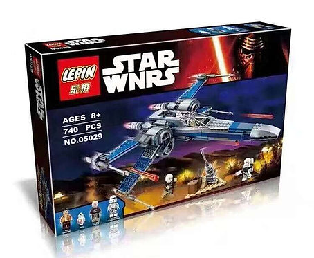 Коробка аналог Lego Star Wars Истребитель сопротивления X-Wing   75149   LEGOREPLICA