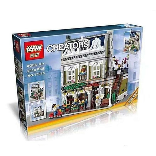 Коробка аналог Lego Creator Парижский ресторан | 10243 |  LEGOREPLICA