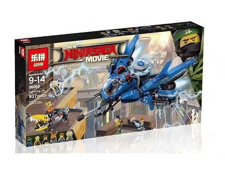 Коробка LEPIN Ninjago Series Самолёт-молния Джея | 70614 | IQREPLICA