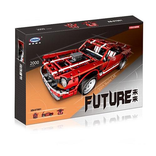 Коробка XINGBAO Красный muscle car Camaro SS | MOC-1352 | IQREPLICA