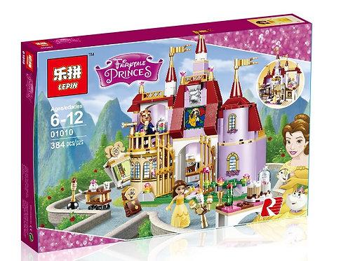 Коробка аналог Lego Disney Заколдованный замок Белль | 41067 | LEGOREPLICA