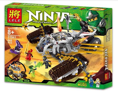 Коробка LELE Ninjago Сверхзвуковой внедорожник   9449   IQREPLICA
