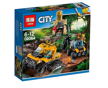 Коробка LEPIN City Series Миссия «Исследование джунглей» | 60159 | IQREPLICA