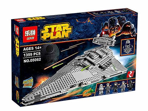 Коробка аналог Lego Star Wars Имперский Звёздный Разрушитель | 75055 | LEGOREPLICA