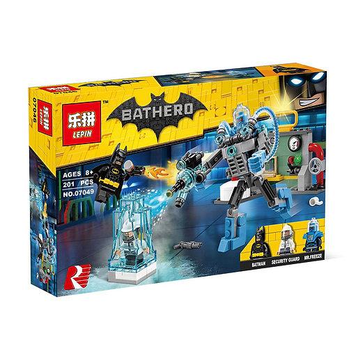 Коробка аналог Lego Batman Ледяная aтака Мистера Фриза | 70901 | LEGOREPLICA