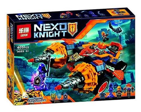 Коробка LEPIN Nexo Knights Series Бур-машина Акселя | 70354 | IQREPLICA