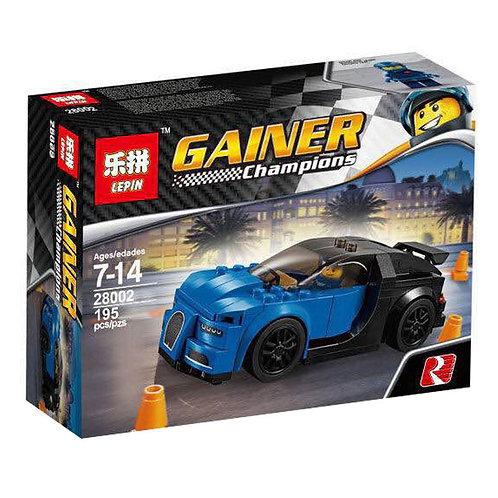 Коробка аналог Lego Racers Series Bugatti Chiron   75878   LEGOREPLICA