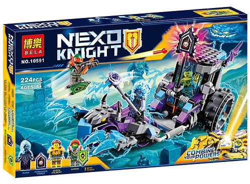 Коробка аналог Lego Nexo Knights Мобильная тюрьма Руины | 70349 | LEGOREPLICA