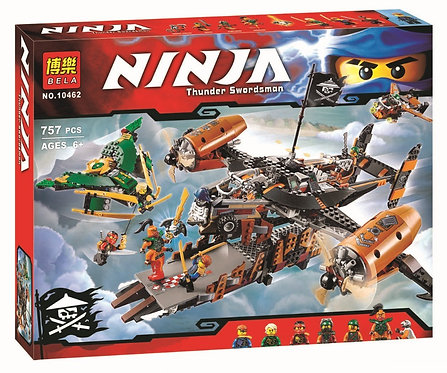 Коробка BELA Ninjago Цитадель несчастий | 70605 | IQREPLICA