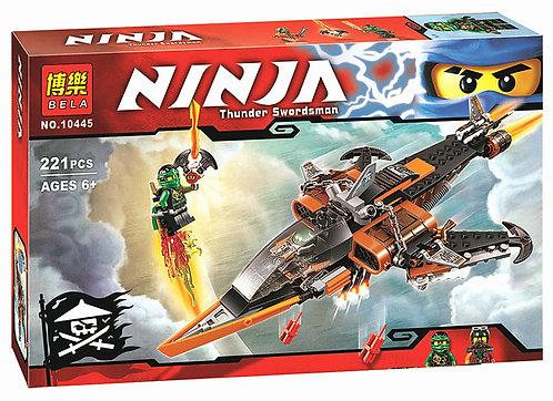 Коробка аналог Lego Ninjago Небесная акула | 70601 | LEGOREPLICA