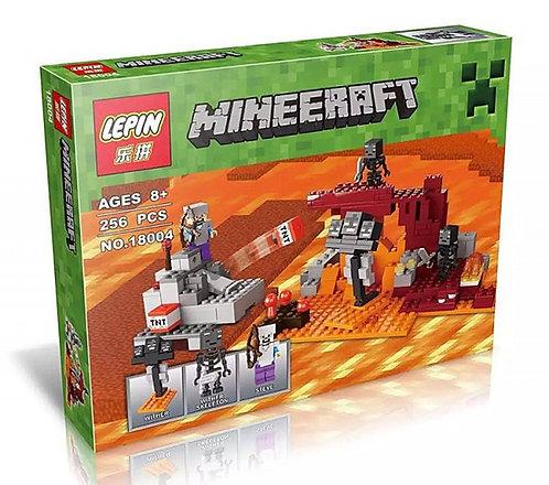 Коробка аналог Lego Minecraft Иссушитель | 21126 | LEGOREPLICA