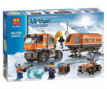 Коробка аналог Lego City Передвижная арктическая станция | 60035 | LEGOREPLICA