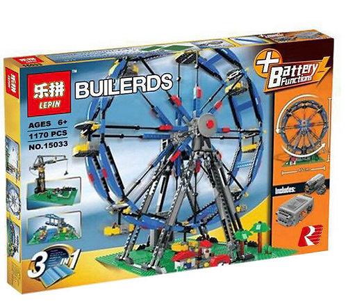Коробка аналог Lego Creator Колесо обозрения 3 в 1 | 4957 и 10247 | LEGOREPLICA