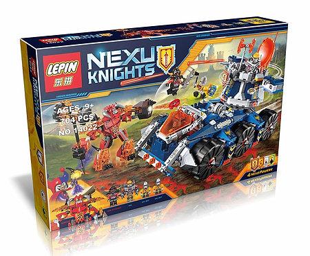 Коробка аналог Lego Nexo Knights Series Башенный тягач Акселя | 70322 | LEGOREPLICA