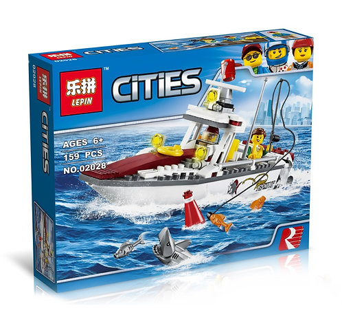 Конструктор LEPIN Рыболовный катер | 60147