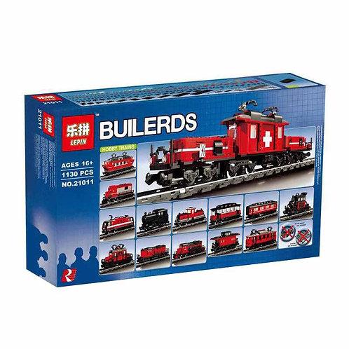 Коробка аналог Lego Hobby Trains Set | 10183 | LEGOREPLICA