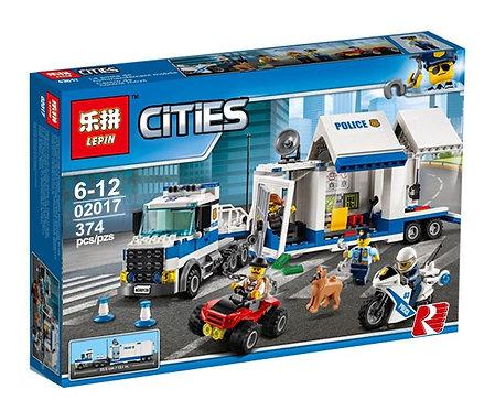 Коробка аналог Lego City Мобильный командный центр | 60139 | LEGOREPLICA