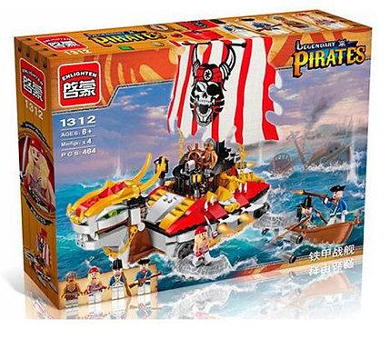 Коробка BRICK Pirates Боевая черепаха пиратов | IQREPLICA