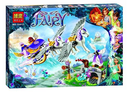 Коробка аналог Lego Elves Летающие сани Эйры | 41077 | LEGOREPLICA