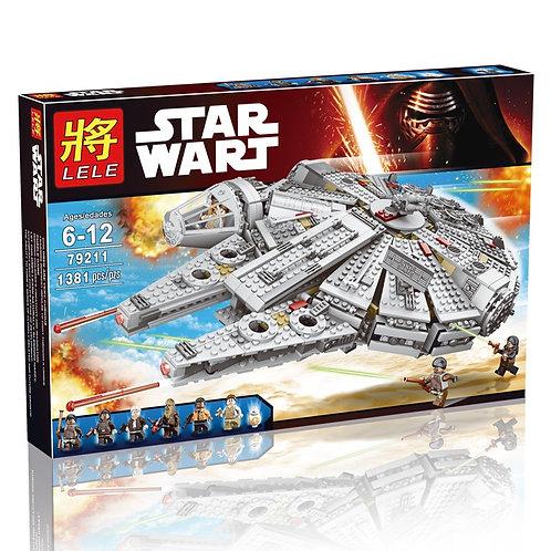 Коробка аналог Lego Star Wars Сокол Тысячелетия | 75105 | LEGOREPLICA
