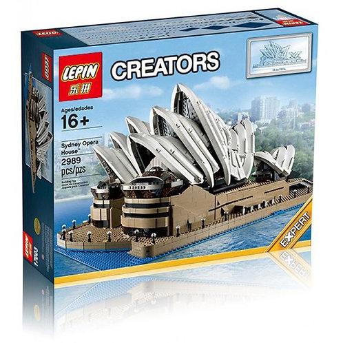 Коробка аналог Lego Creator Сиднейский оперный театр | 10234 | LEGOREPLICA