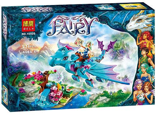 Коробка аналог Lego Elves Приключение дракона воды | 41172 | LEGOREPLICA