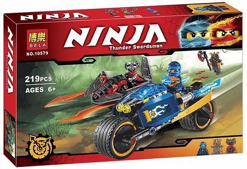 Коробка аналог Lego Ninjago Пустынная молния | 70622 | LEGOREPLICA