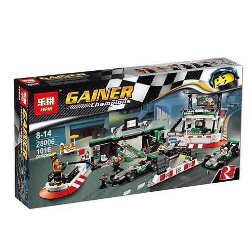 Коробка аналог Lego Racers Mercedes AMG Petronas Formula-1 Team   75883   LEGOREPLICA