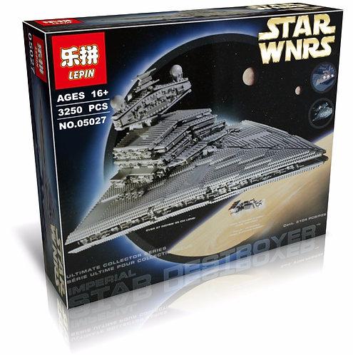 Коробка аналог Lego Star Wars Имперский Звездный Разрушитель | 10030 | LEGOREPLICA