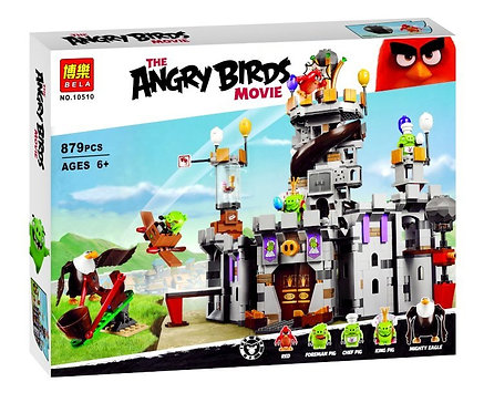 Коробка аналог Lego Angry Birds Замок короля свинок | 75826 | LEGOREPLICA