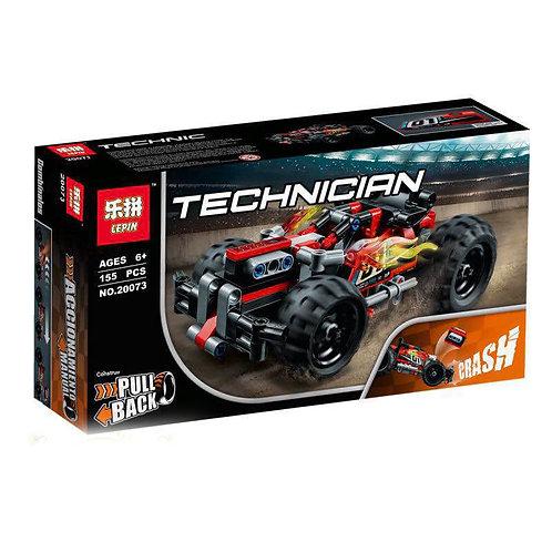 Конструктор LEPIN Красный гоночный автомобиль   42073