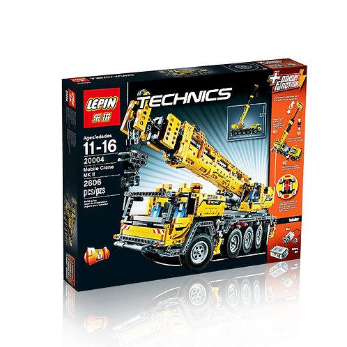 Коробка аналог Lego Technic Series Передвижной кран MK II | 42009 |  LEGOREPLICA