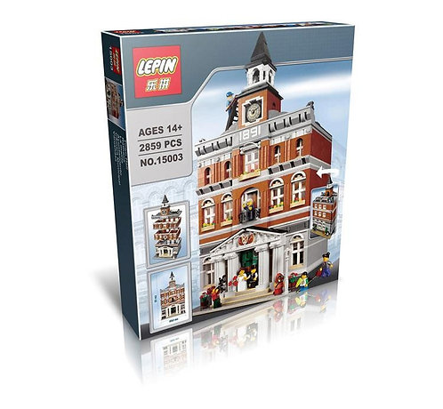 Коробка аналог Lego Creator Городская Ратуша   10224   LEGOREPLICA