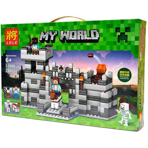 Коробка LELE Minecraft Неприступная крепость | IQREPLICA