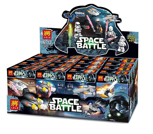 Коробка минифигурок аналог Lego Star Wars Комплект из 8шт | Тёмная сторона | LEGOREPLICA