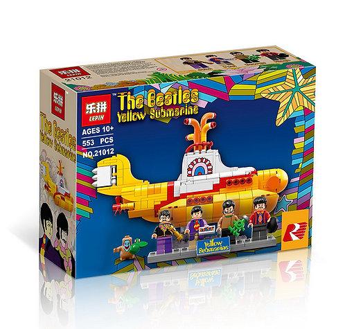 Коробка аналог Lego Ideas Желтая Подводная Лодка «Битлз» | 21306 | LEGOREPLICA