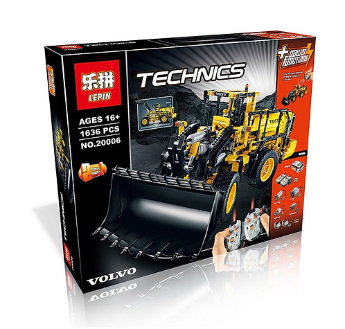 Коробка аналог Lego Technic Автопогрузчик VOLVO L350F | 42030 | LEGOREPLICA