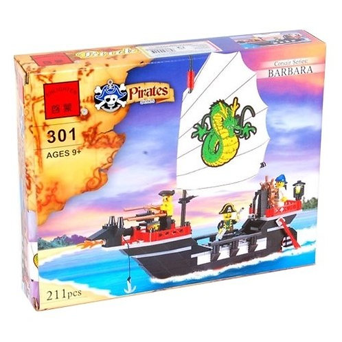 Коробка BRICK Pirates Корабль корсаров «Барбара» | IQREPLICA