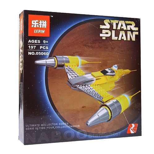 Коробка аналог Lego Star Wars Истребитель Набу   10026   LEGOREPLICA