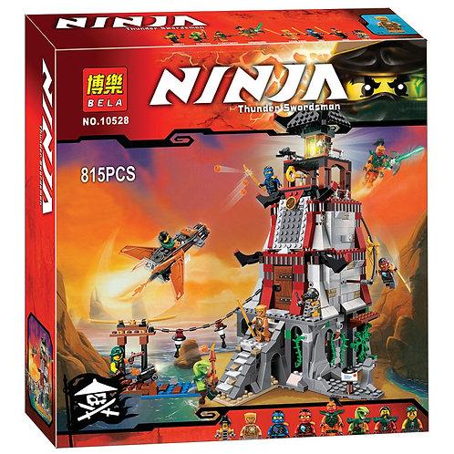 Коробка аналог Lego Ninjago Осада маяка   70594   LEGOREPLICA