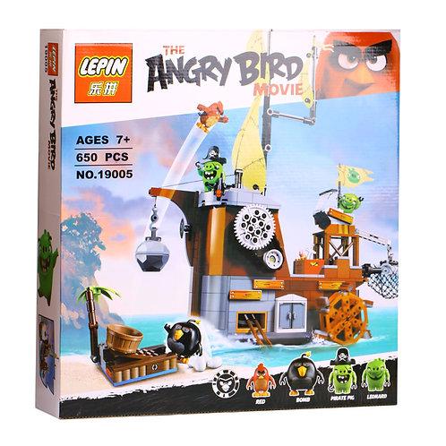 Коробка LEPIN Angry Birds Пиратский корабль свинок | 75825 | IQREPLICA