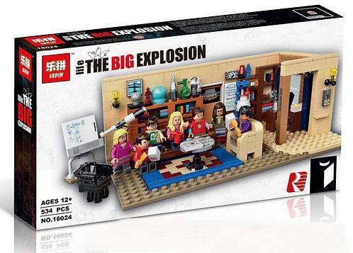 Коробка аналог Lego Ideas Теория большого взрыва   21302   LEGOREPLICA