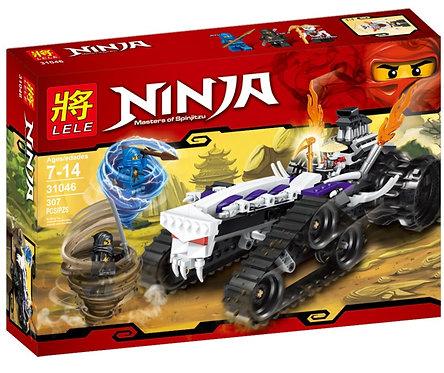 Коробка LELE Ninjago Турбо Шредер | 2263 | IQREPLICA