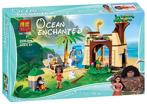 Конструктор BELA Disney Приключения Моаны на затерянном острове   41149