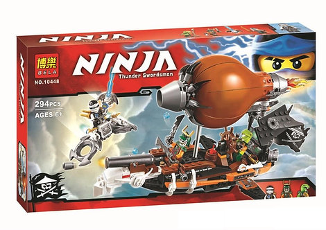 Коробка аналог Lego Ninjago Дирижабль-штурмовик | 70603 | LEGOREPLICA