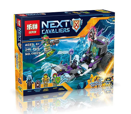 Коробка аналог Lego Nexo Knights Series Мобильная тюрьма Руины | 70349 | LEGOREPLICA