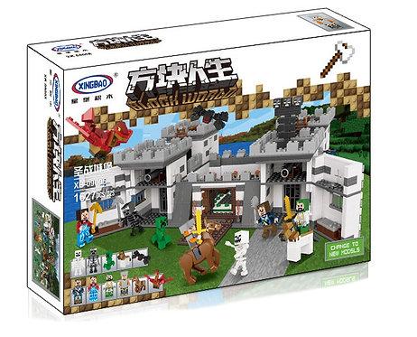 Коробка XINGBAO Minecraft MOC Замок священной войны 5 в 1 | IQREPLICA